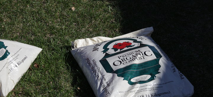 McEnroe Premium Compost Available in 40lb Bags