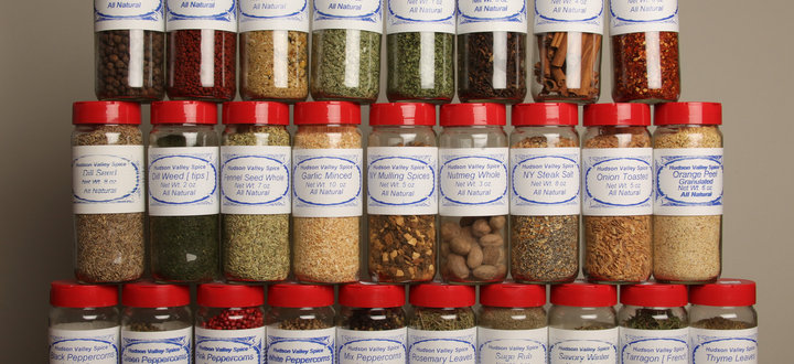 A Wide Variety of Spices from Hudson Valley Spices