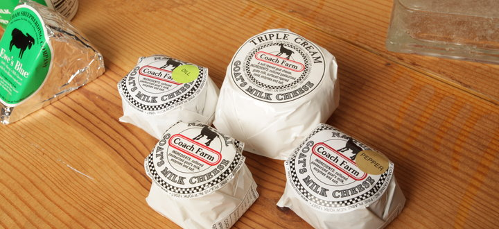 Coach Farm Milks and Cheeses from Pine Plains